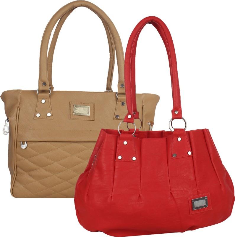 Fillincart Women Red, Brown Hand-held Bag