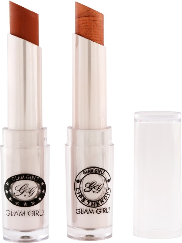 Glam Girlz Matte Lipstick-Combo(19&35)(coffee nude, copper, 28 g)