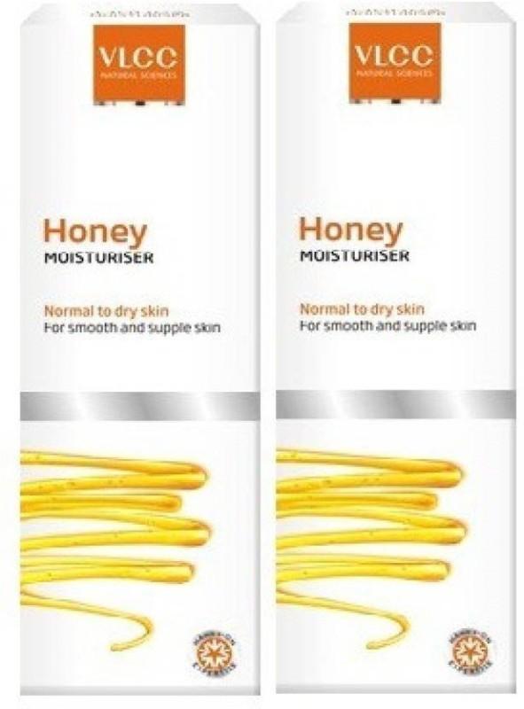 VLCC Natural Sciences Skin Defense Honey Moisturiser, 100ml (Pack of 2)(200 ml)