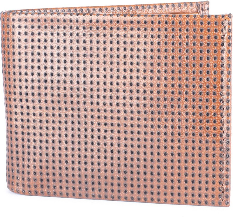 Van Heusen Men Brown Genuine Leather Wallet(15 Card Slots)