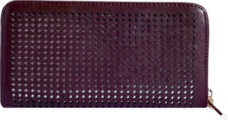 Lino Perros Women Brown Artificial Leather Wallet(4 Card Slots)