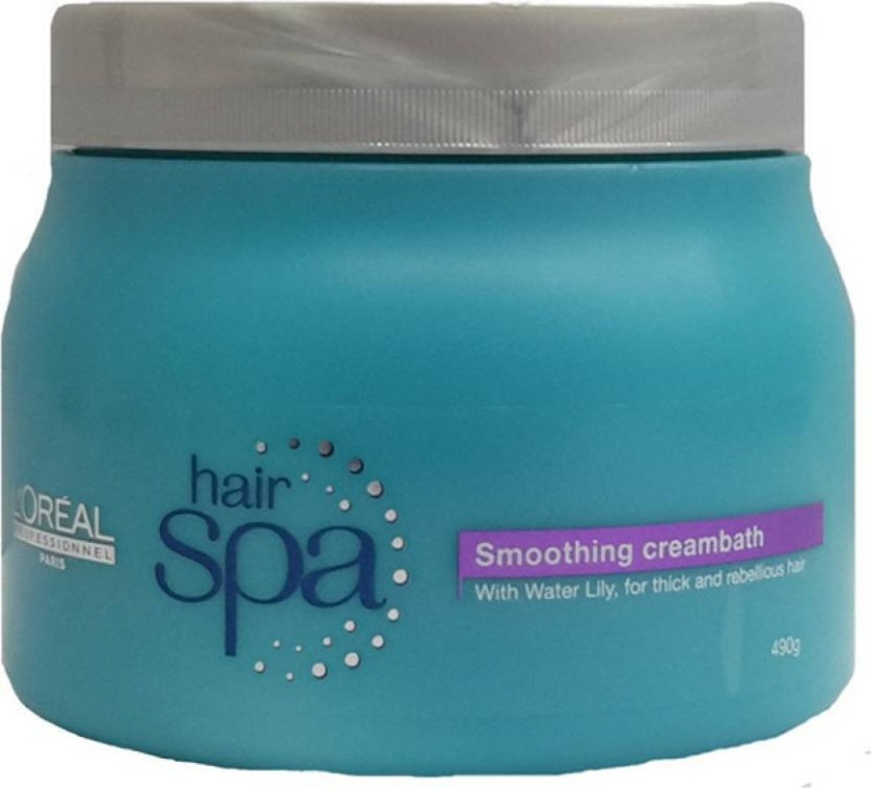 LOreal Paris Hair Spa Smoothing Creambath (490 ml)(490 g)