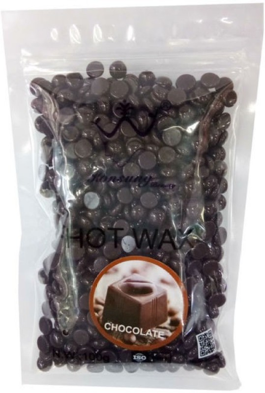 dios De-Haired Depilatory Hard Bean Bikini Wax ( Chocolate) 200gm Wax(200 g)