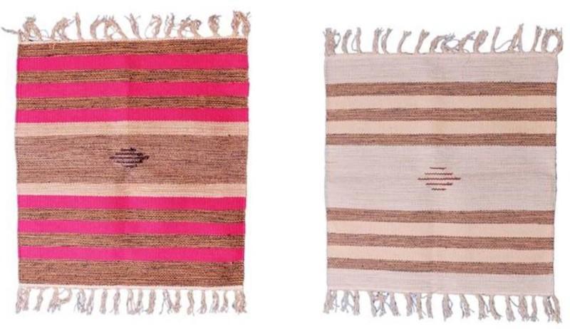 Purpledip Cotton Prayer Mat(Multicolor, Medium)