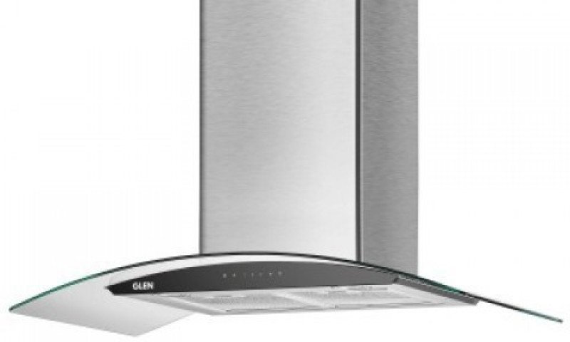 GLEN Cooker Hood 6063 SS Auto Clean 60cm 1200 Wall Mounted Chimney(STEEL 1200)