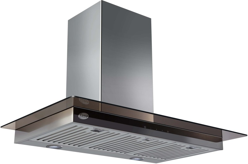 GLEN Cooker Hood 6062 TS 90cm 1250m3 BF LTW Wall Mounted Chimney(Sliver 1250 CMH)