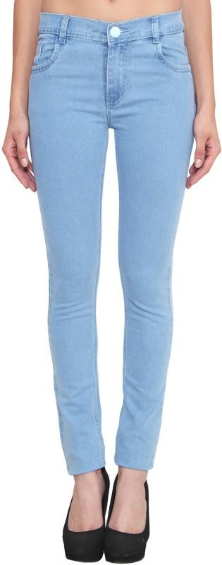 Ahaana Fashion Slim Women Light Blue Jeans