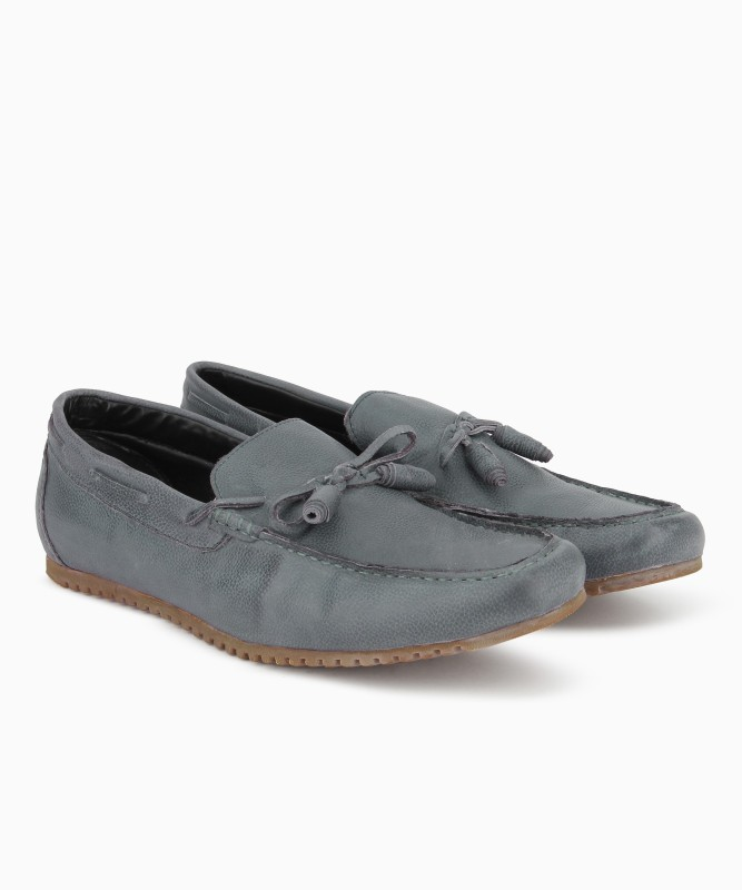 Bata Connor Loafers For Men(Grey)