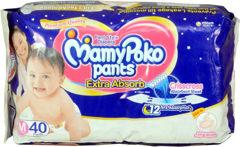 MamyPoko pant diapers - M(40 Pieces)