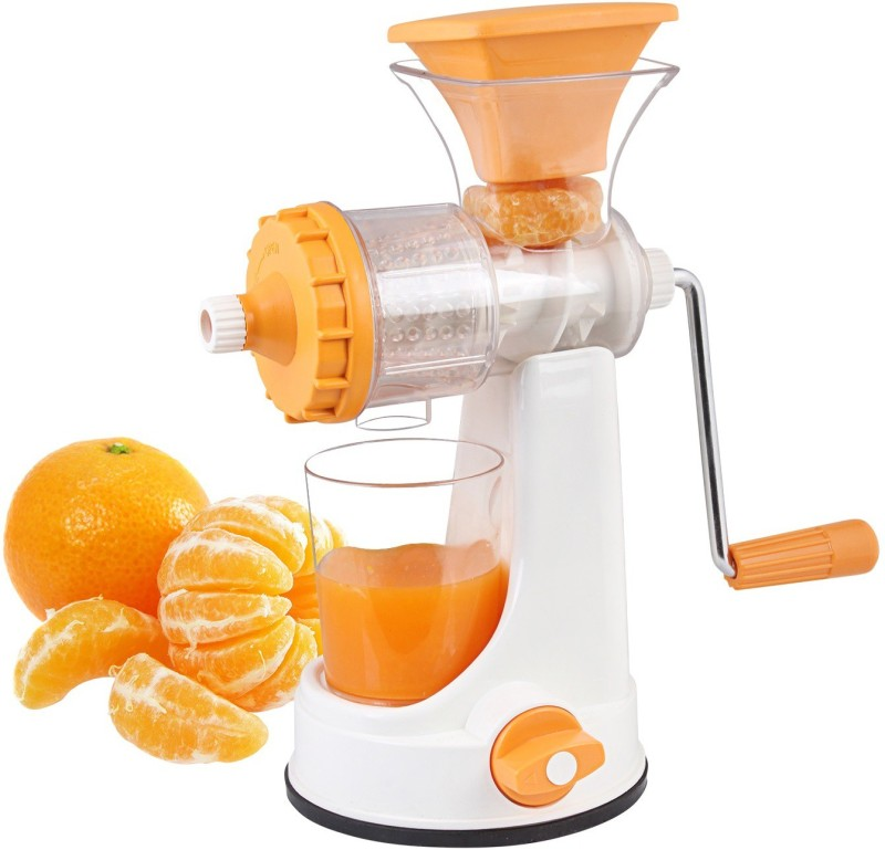 Floraware Plastic Hand Juicer(Orange)
