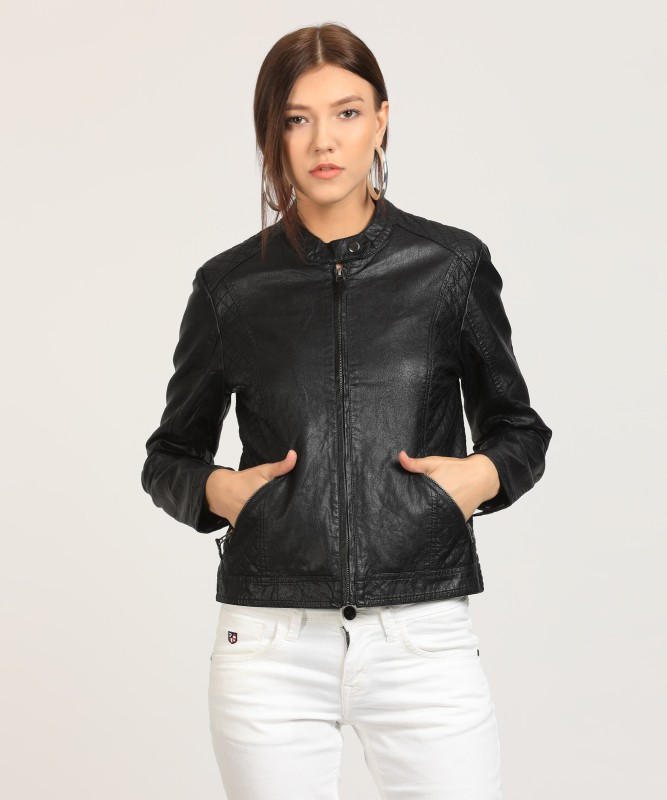U.S. Polo Assn Full Sleeve Solid Womens Jacket