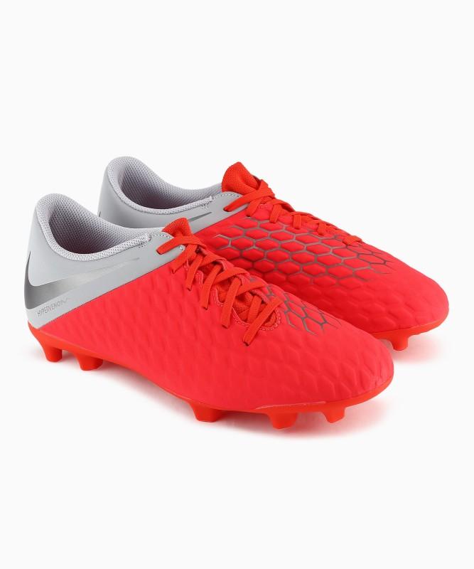 Nike HYPERVENOM 3 Football Shoes For Men(Red)