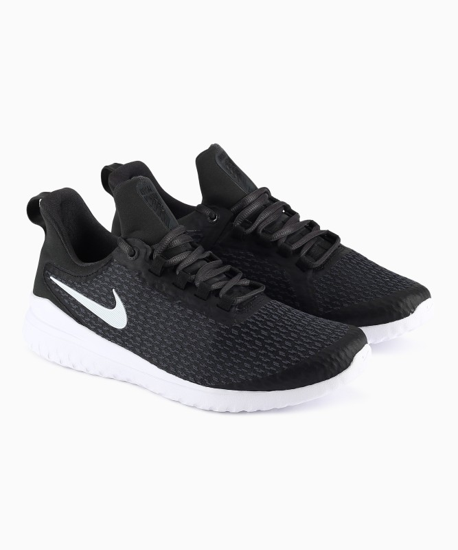 Nike NIKE RENEW RI Running Shoes For Men(Black, Green)