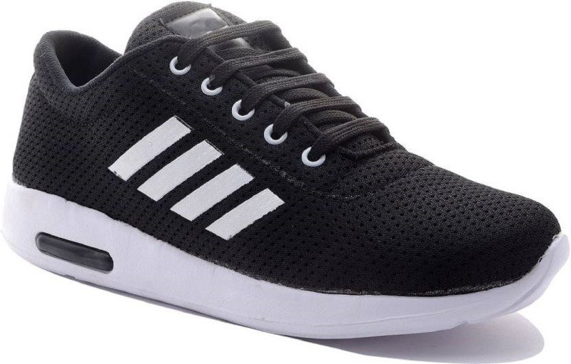 Aadi Black Mesh Outdoor Casual Shoes Walking Shoes For Men(White, Black)