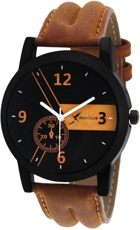 Rich Club RC=9989 Time~Walker Tan Coloured Watch - For Men
