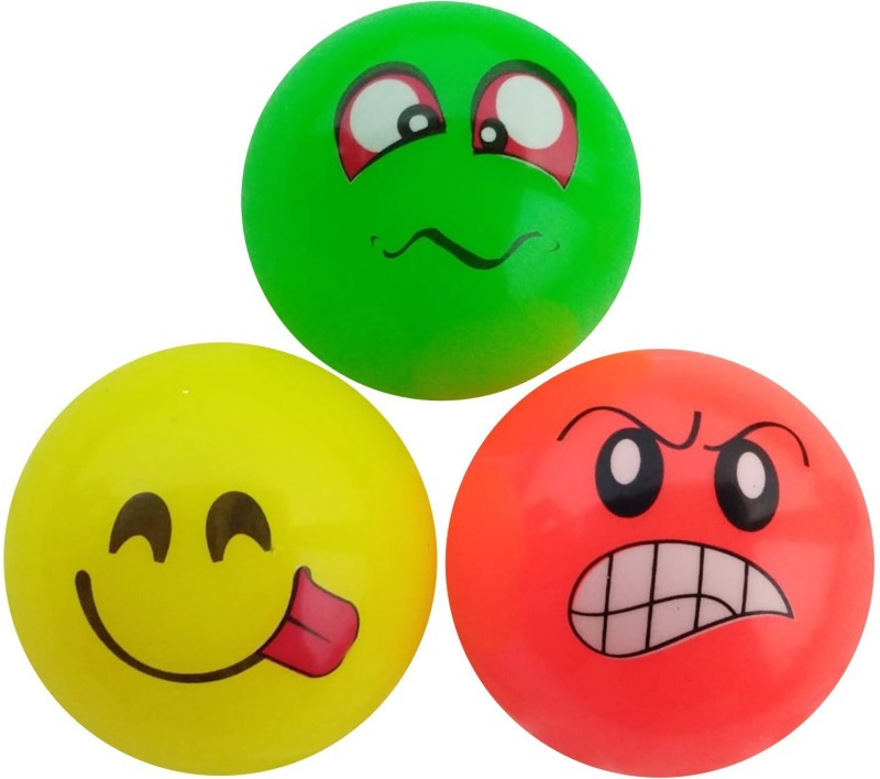 saeko Soft Ball with Fragrance, for Kids, Can be used as Stress Ball and Toy ball also Massage Ball(Pack of 3, Multicolor)