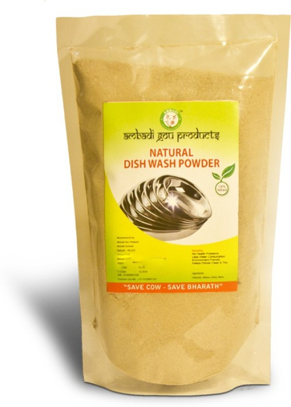 Ambadi & Logo Premium Natural Dish/ Hand Wash Powder 350 GMS (Set of 5) Dishwashing Detergent(350 g)