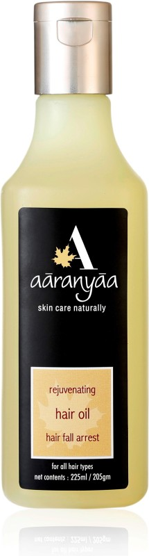 Aaranyaa Rejuvenating Hair Oil with natural extract of Amla, Bhringraj and essential oil for nourishment and prevent hair fall Hair Oil(225 ml)