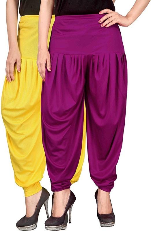 Navyataa Solid Lycra Women Harem Pants