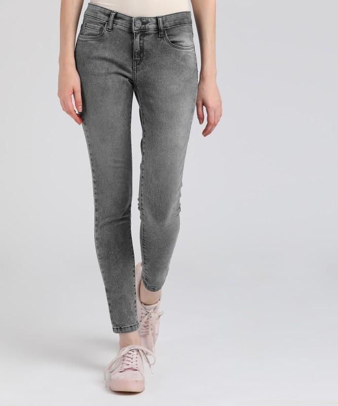 Tokyo Talkies Skinny Women Grey Jeans
