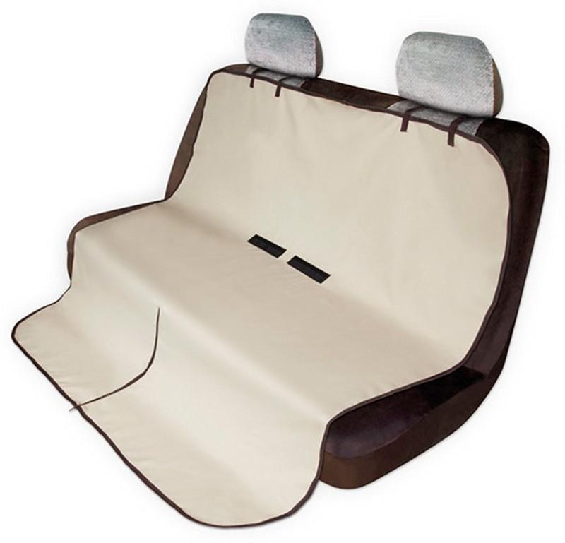 MadSan Pet seat cover1 Hammock Pet Seat Cover(Beige Waterproof)