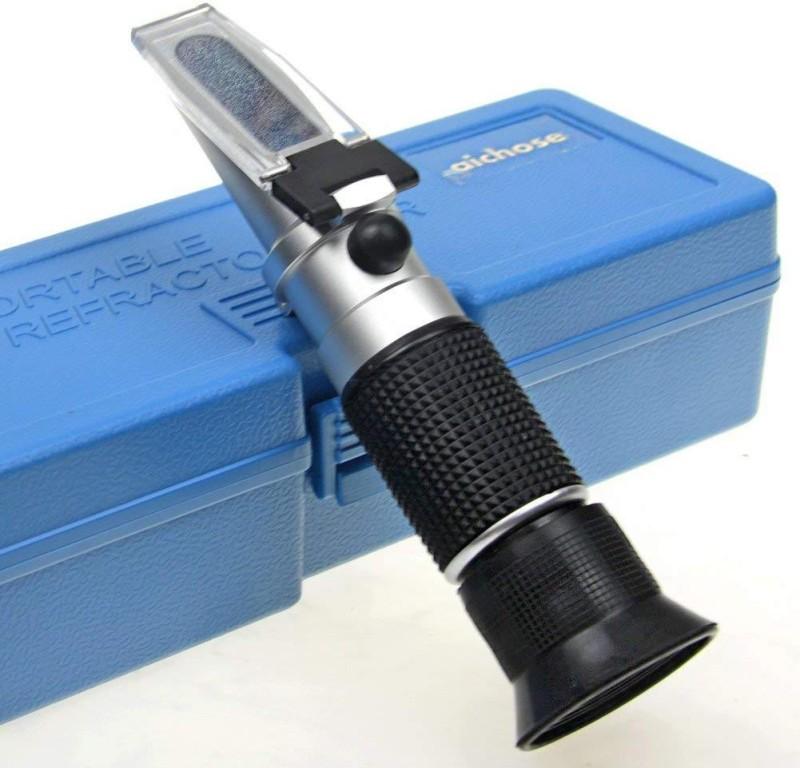 MCP Honey Refractometer for Honey Moisture, Refractometer 58-90 % Scale Range Honey Tester Manual Laboratory Refractometer