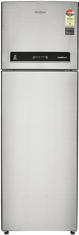 Whirlpool 292 L Frost Free Double Door 4 Star Refrigerator(Cool Illusia Steel, Intellifresh INV 305 ELT 4S)
