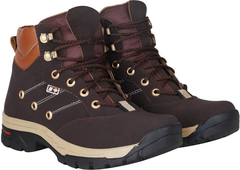 Kraasa Climber Boots For Men(Brown)
