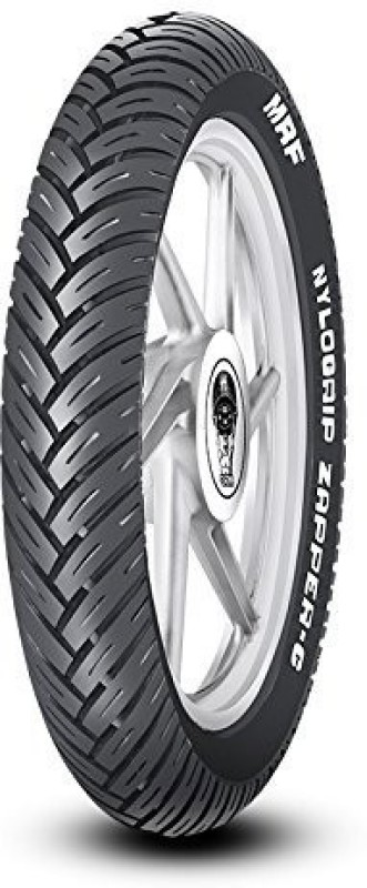 MRF ZAPPER C 120/80 R17 61P Tubeless Motorcycle Rear Tyre(Dual Sport, Street, Racing Slicks, Tube Less)