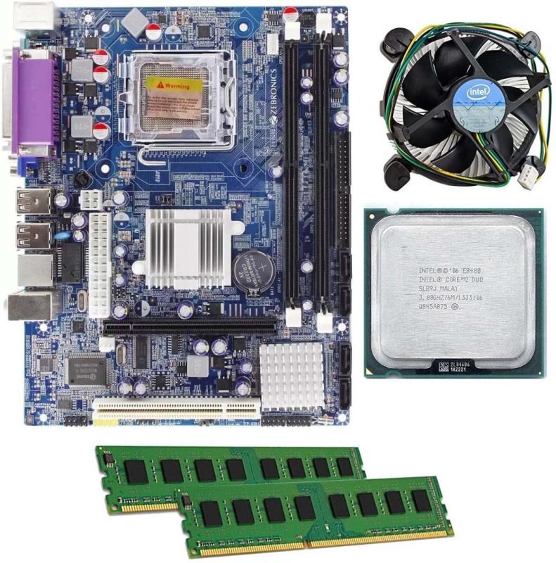 Zebronics Zeb-g31combo2gb Combo Motherboard(Multicolor)