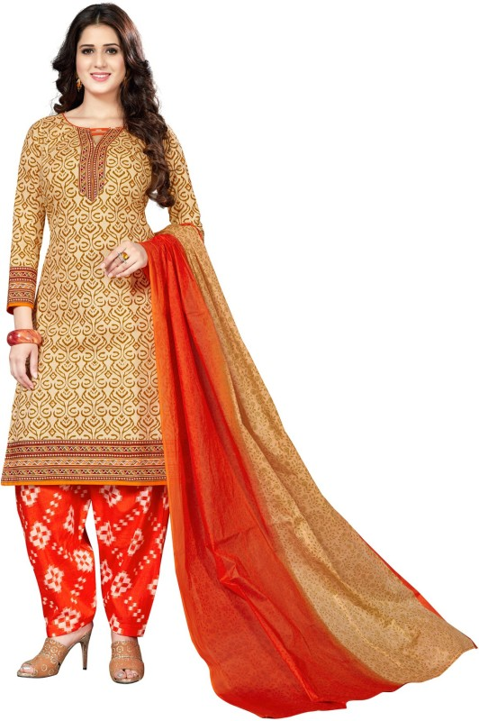 e0d5cbc1deb Salwar Studio Cotton Printed Salwar Suit Dupatta Material(Un-stitched)