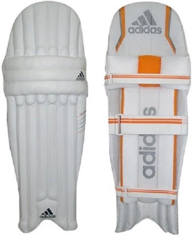 ADIDAS Pellara 5.0 Cricket Batting Pad Mens RH Cricket Guard Combo(Mens, White)