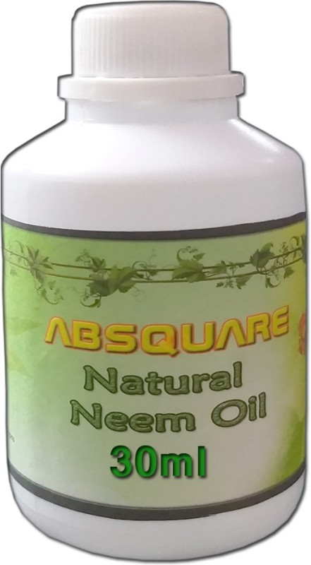 absquare Natural & Pure Cold Pressed Unrefined Neem oil 30 ml ,Natural & Undiluted For Skincare,Hair Care ,Body and Essential Oils(30 ml)