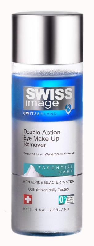 swiss image Double Action Eye Make up Remover Makeup Remover(150 ml)