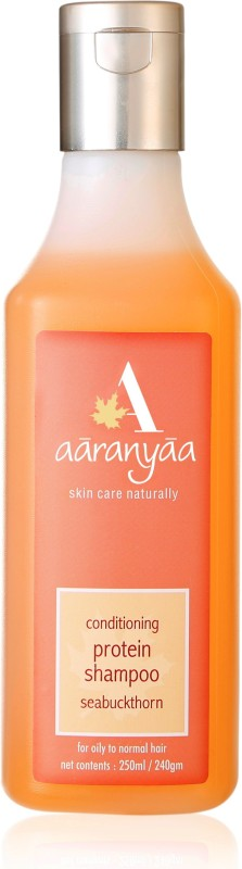 Aaranyaa Protein Conditioning Shampoo with Amino Fruit Extract Seabuckthorn Oil Amla Bhrami and Methi to provide Damage Protection(250 ml)