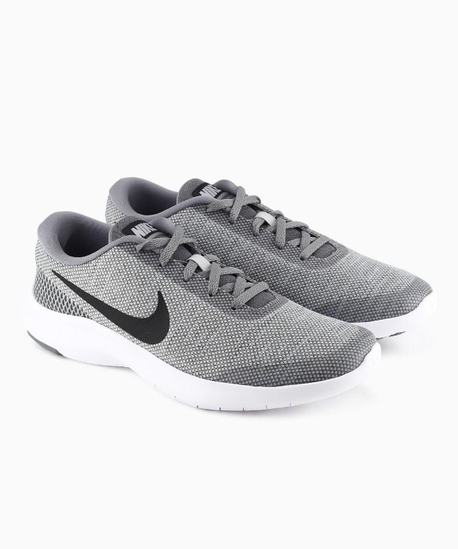 Nike NIKE FLEX EXP Walking Shoes For Men(Grey, White)