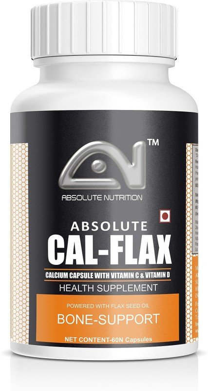 ABSOLUTE NUTRITION CAL_Flax_60 nos(60 No)