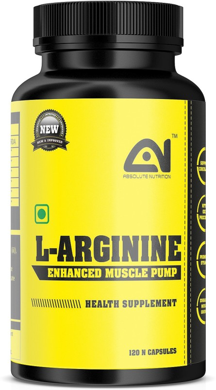 ABSOLUTE NUTRITION L-Arginine_120 nos(120 No)