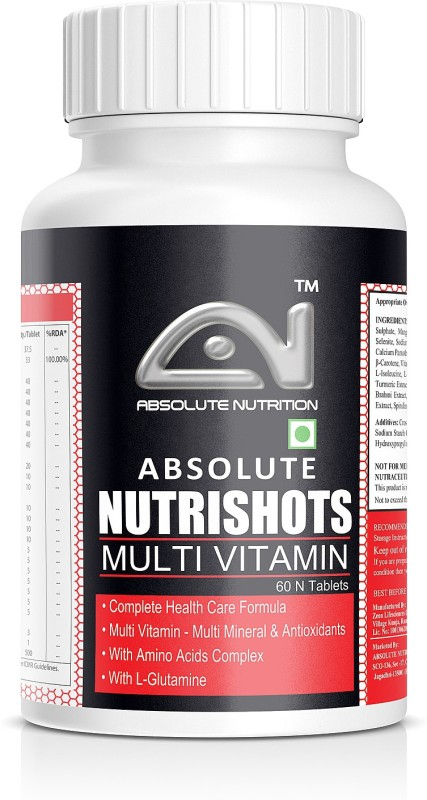 ABSOLUTE NUTRITION Nutrishots_60 nos(60 No)