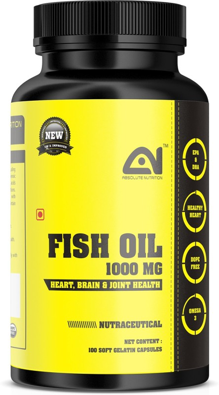 ABSOLUTE NUTRITION Fish_oil_100 nos(100 No)