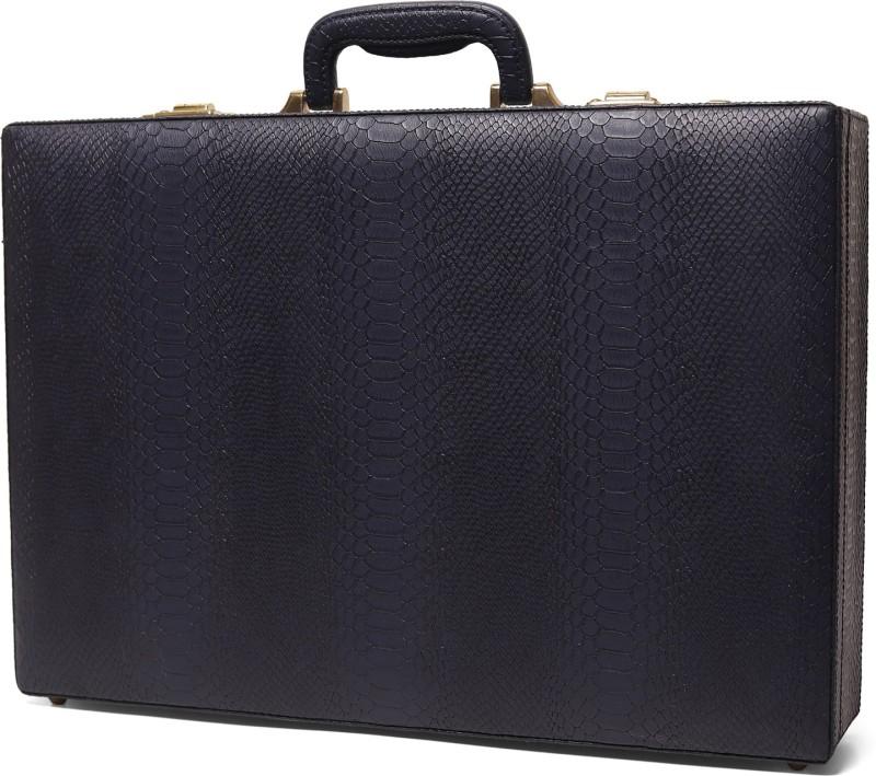 Clocharde CLO-17-5 Medium Briefcase - For Men & Women(Blue)