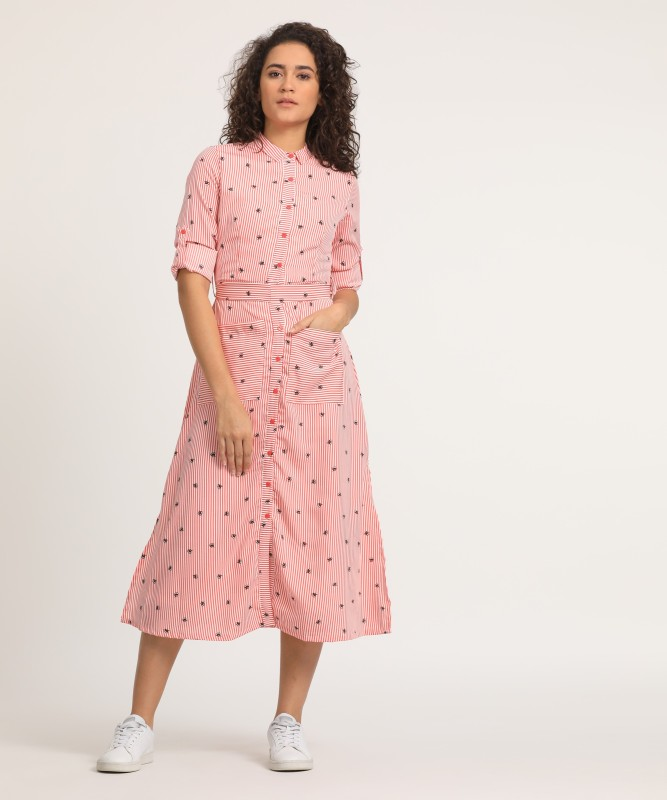 Tokyo Talkies Women Shirt Multicolor Dress
