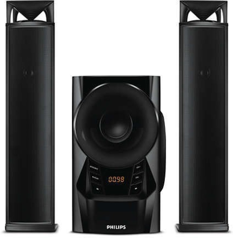 Philips IN-MMS2160B/94 2.1 Channel Convertible Bluetooth Home Theater 2.1 Home Cinema(Audio)