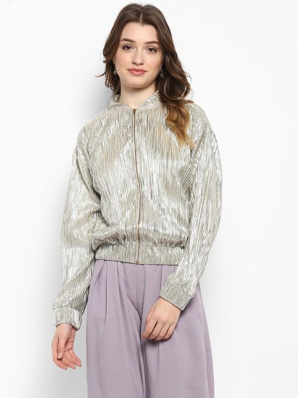 Kazo Full Sleeve Solid Women Jacket