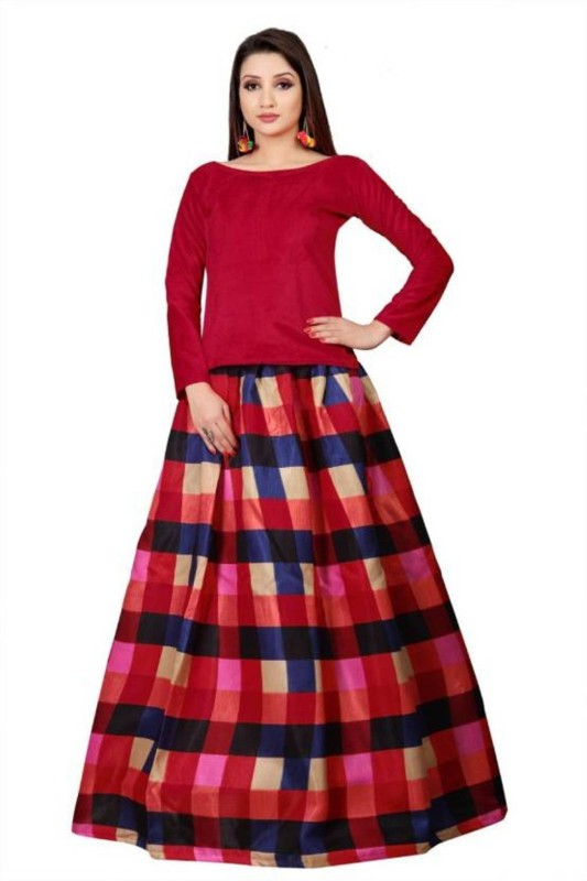 STYLE FASHION CLOTHINGS Printed Lehenga Choli(Multicolor)