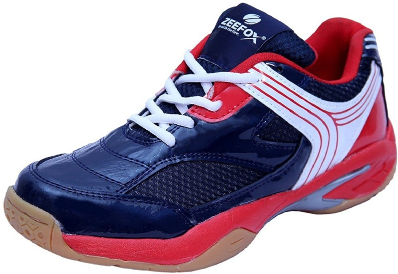 Zeefox Badminton Shoes For Men(Red)