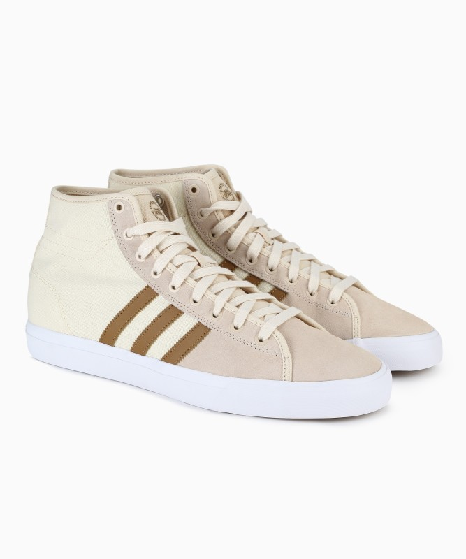 ADIDAS ORIGINALS MATCHCOURT HIGH RX Sneakers For Men(Beige)