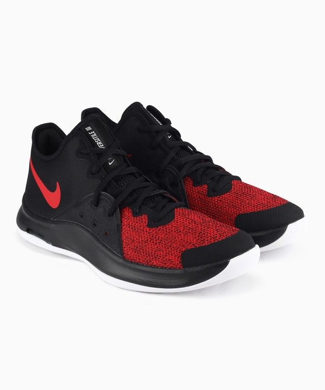 Nike AIR VERSITILE III Basketball Shoe For Men(Red, Black)