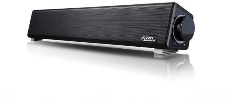 F&D E200 3 W Portable Home Audio Speaker(Black, Stereo Channel)