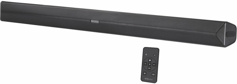 Portronics Sound Slick-2 POR-936 Wireless 40 W Bluetooth Soundbar(Black, Stereo Channel)